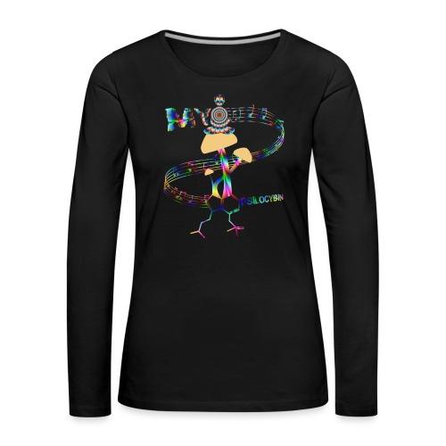 My Psilocybin (Psychadelic) - Långärmad premium-T-shirt dam