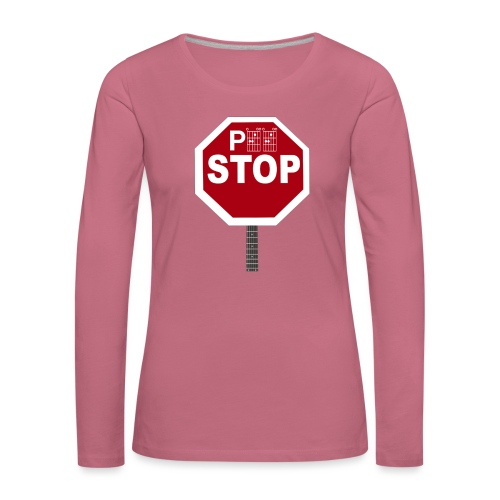 Pee Stop for Concert Goers! - Women's Premium Longsleeve Shirt