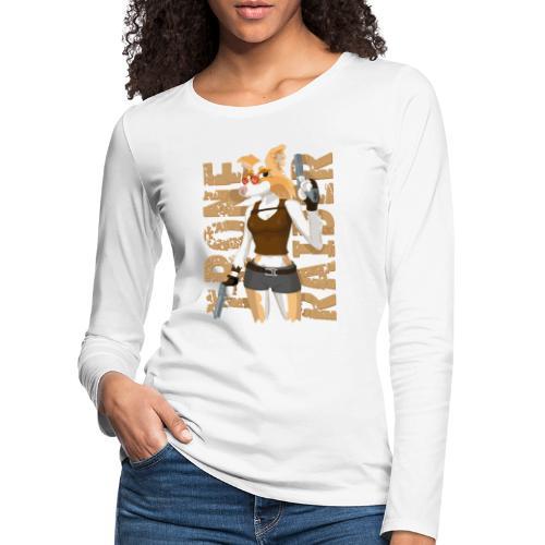 T-Bone Raider - Women's Premium Longsleeve Shirt