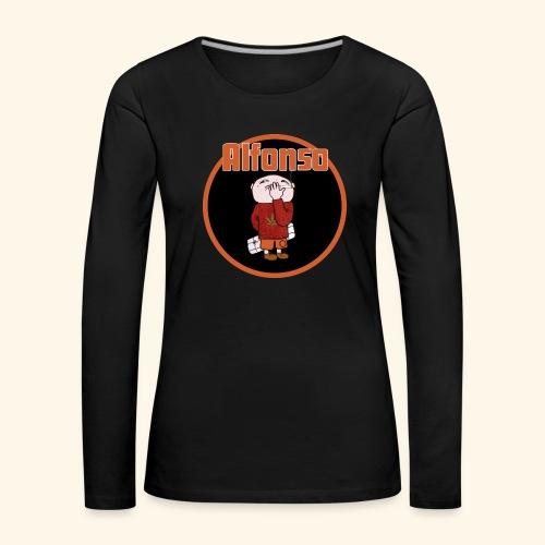 Alfonso - Långärmad premium-T-shirt dam