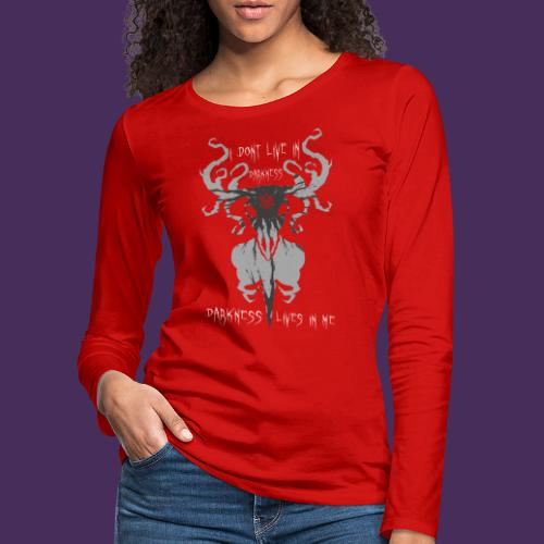 Modello 56 png - Women's Premium Longsleeve Shirt