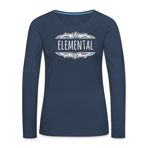 Elemental - Women's Premium Longsleeve Shirt