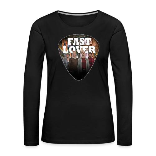 Fast Lover Pick - Frauen Premium Langarmshirt