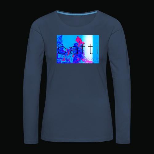 bafti lsd tee - Dame premium T-shirt med lange ærmer
