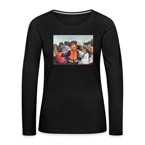 Lezvos22 - Långärmad premium-T-shirt dam