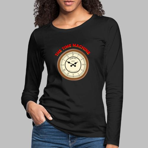 Time Machine - Women's Premium Longsleeve Shirt