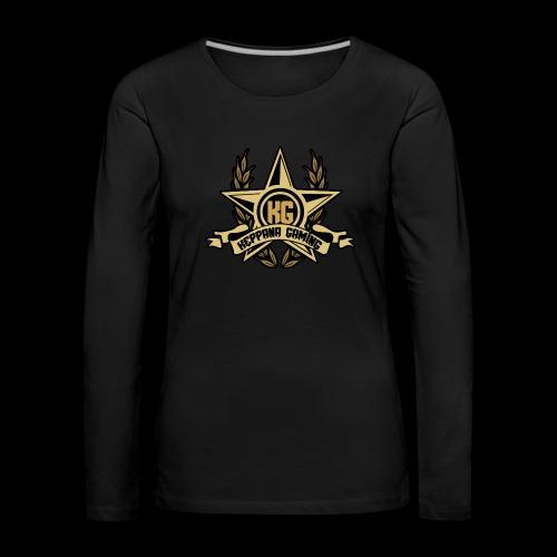 Keppana Gaming - Naisten premium pitkähihainen t-paita