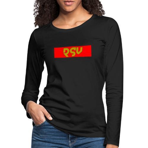rsv - T-shirt manches longues Premium Femme