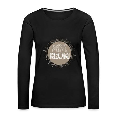 Grossesse - T-shirt manches longues Premium Femme