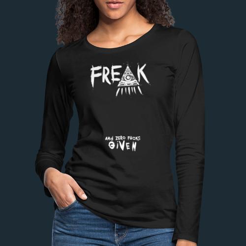 Modello 48 2 png - Women's Premium Longsleeve Shirt
