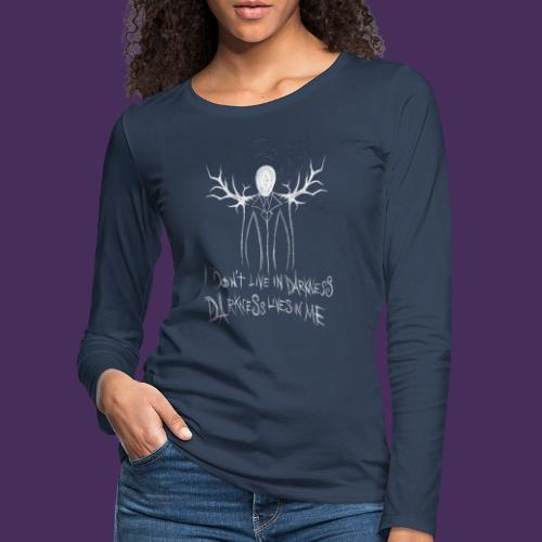 Modello 57 png - Women's Premium Longsleeve Shirt