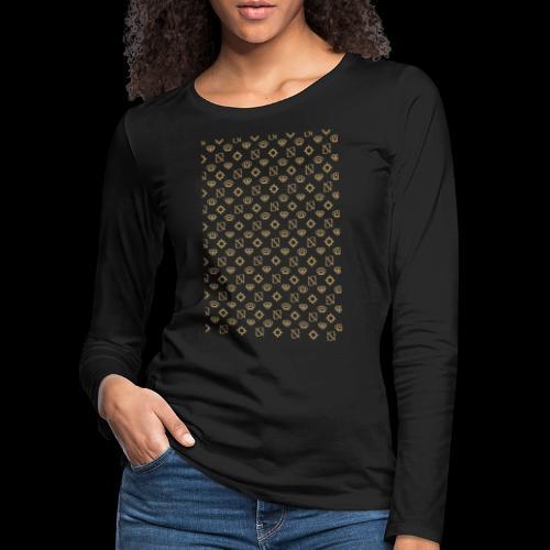 SessantaNove Logo Classico - Maglietta Premium a manica lunga da donna