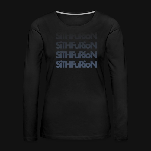 SiThFuRioN Faded - Women's Premium Longsleeve Shirt