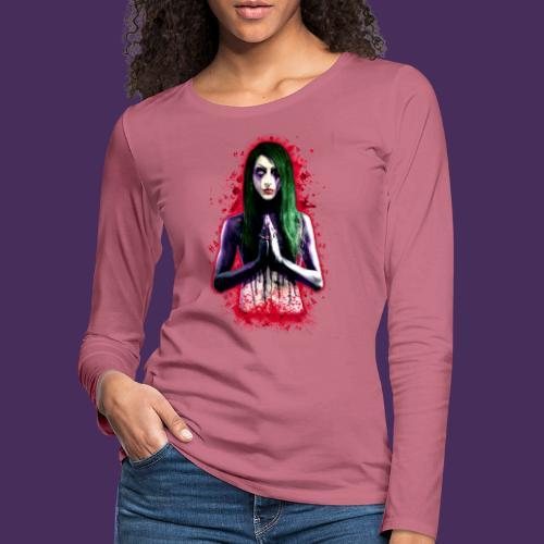 Modello 40 png - Women's Premium Longsleeve Shirt