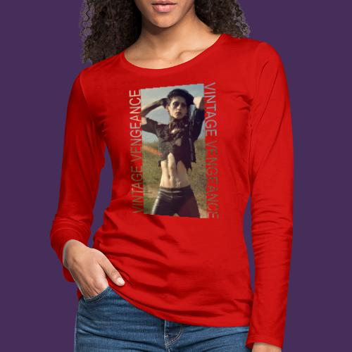 Modello 58 png - Women's Premium Longsleeve Shirt