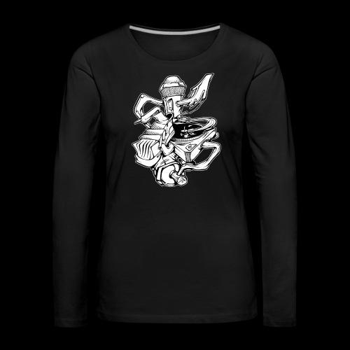 The Real HipHop Elements - Frauen Premium Langarmshirt