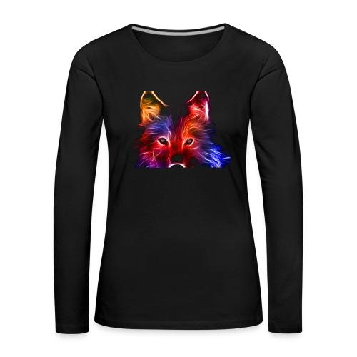 wzorek_04 - Koszulka damska Premium z długim rękawem