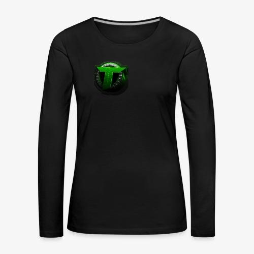 TEDS MERCHENDISE - Premium langermet T-skjorte for kvinner