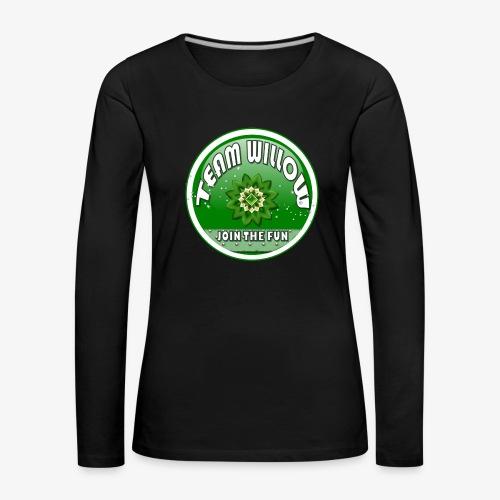 TEAM WILLOW - Women's Premium Longsleeve Shirt