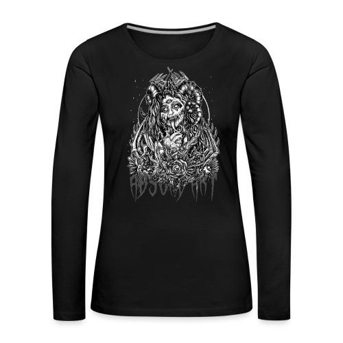 Murderous Beauty, Black'n White, Absurd Art - Frauen Premium Langarmshirt