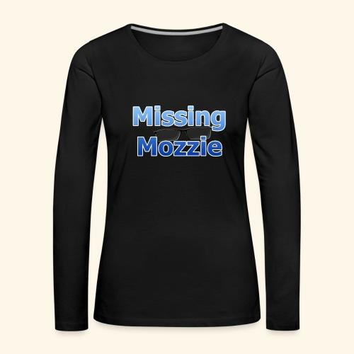 Missing Mozzie - Women's Premium Longsleeve Shirt