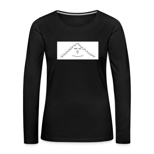faccina scala - Maglietta Premium a manica lunga da donna