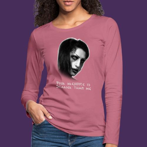 Modello 55 png - Women's Premium Longsleeve Shirt