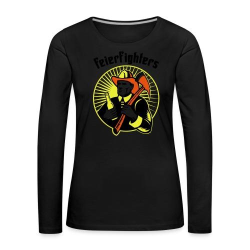 feierfighters - Frauen Premium Langarmshirt