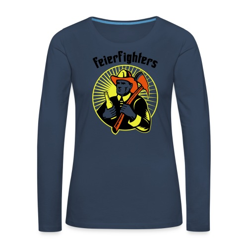 feierfighters - Frauen Premium Langarmshirt