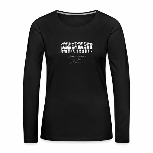 Vincere insieme - Maglietta Premium a manica lunga da donna