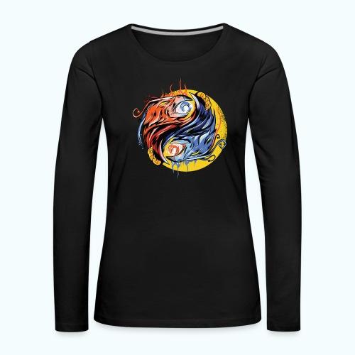 Japan Phoenix - Women's Premium Longsleeve Shirt