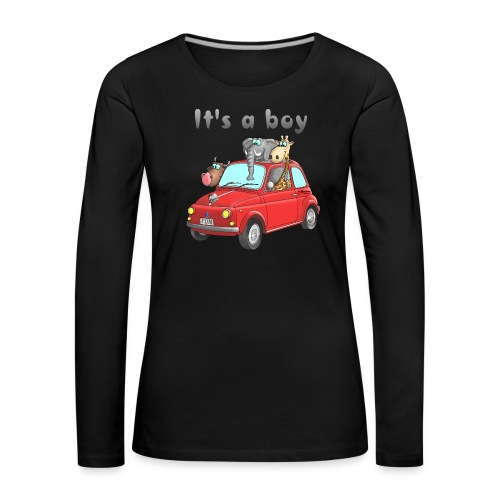 It's a boy - Baby - Cartoon - lustig - Frauen Premium Langarmshirt