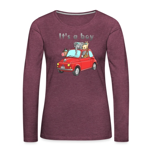 It's a boy - Baby - Cartoon - lustig - Frauen Premium Langarmshirt