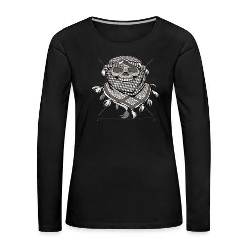 Krieger - Frauen Premium Langarmshirt