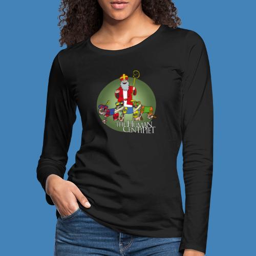 The Human Centipiet - Vrouwen Premium shirt met lange mouwen
