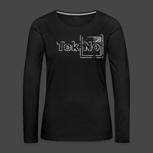 TEKNO 23 - Maglietta Premium a manica lunga da donna