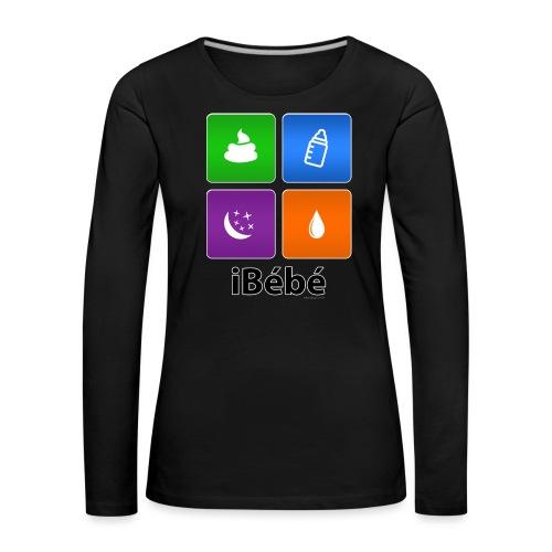 iBébé - T-shirt manches longues Premium Femme