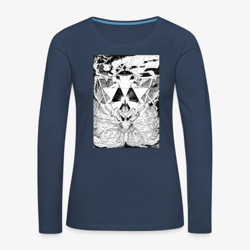 Primal Ordeal by Rivinoya - Naisten premium pitkähihainen t-paita