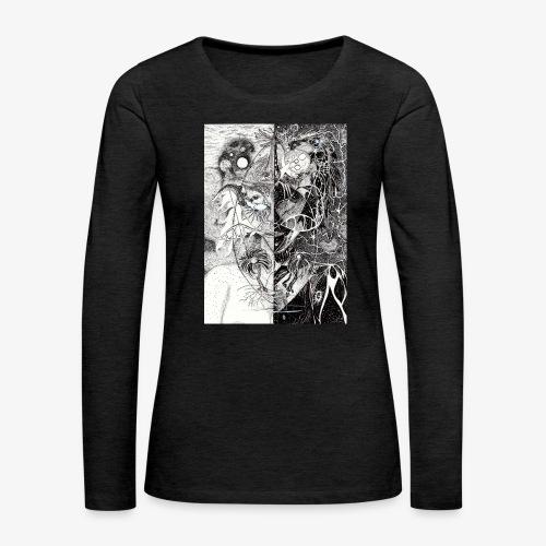 Universe In Us All Original Edition by Rivinoya - Naisten premium pitkähihainen t-paita
