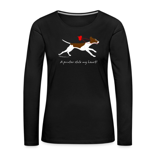 English pointer liver - Women's Premium Longsleeve Shirt