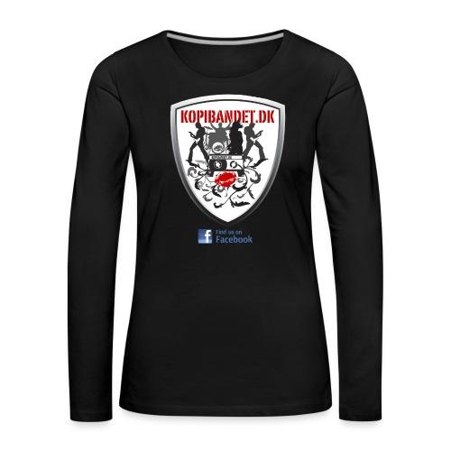 KopiBandet.DK find us on facebook - Dame premium T-shirt med lange ærmer