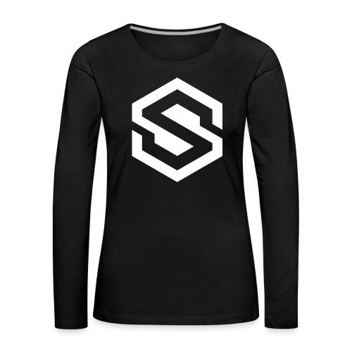 safecoin mark white - Women's Premium Longsleeve Shirt