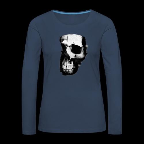 teschio darktrasp - Maglietta Premium a manica lunga da donna