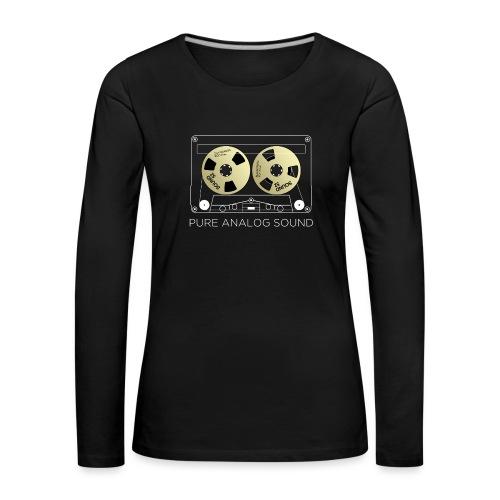 Reel golden cassette - Women's Premium Longsleeve Shirt