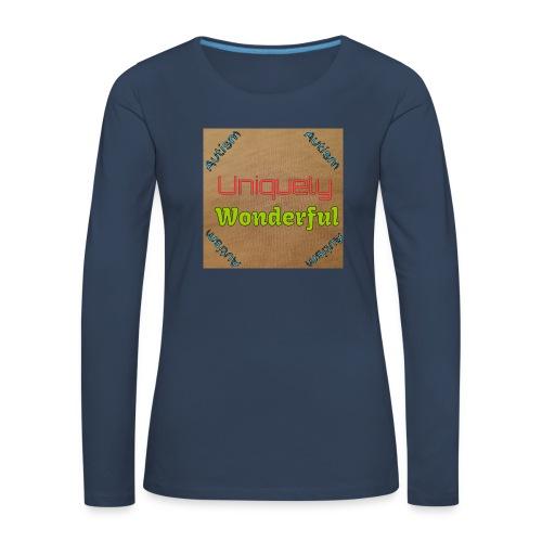 Autism statement - Women's Premium Longsleeve Shirt