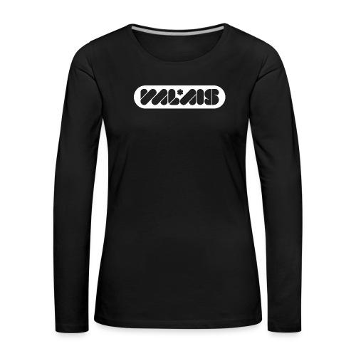 VALAIS - Frauen Premium Langarmshirt