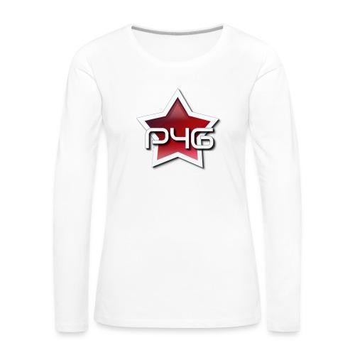 logo P4G 2 5 - T-shirt manches longues Premium Femme