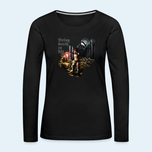 Bring death to life - Camiseta de manga larga premium mujer