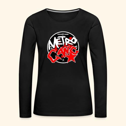 METRO GANG LIFESTYLE - Women's Premium Longsleeve Shirt