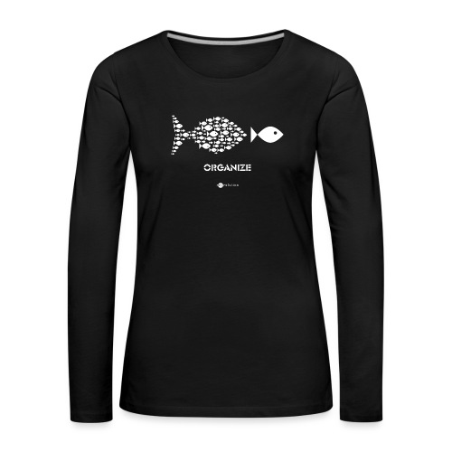 ORGANIZE - Camiseta de manga larga premium mujer